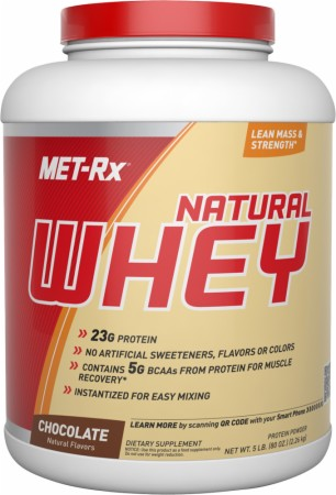 Image for Met-Rx - 100% Natural Whey