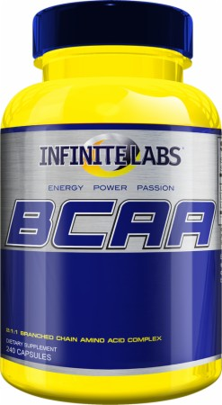 Infinite Labs BCAA Caps - 240 Capsules