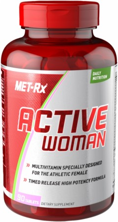 Met-Rx Active Woman - 90 Tablets
