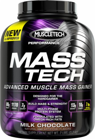 MuscleTech MASS-TECH - 7 Lbs. - Vanilla
