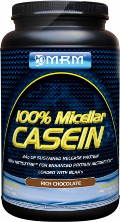MRM 100% Micellar Casein - 2.02 Lbs. - Rich Chocolate - Exclusive